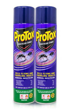 Protox Protect Insecticide 2 units/ 600 ml / Protox/306036/PROTOX PROTECT INSECTICIDE CITRONELLA 600ML