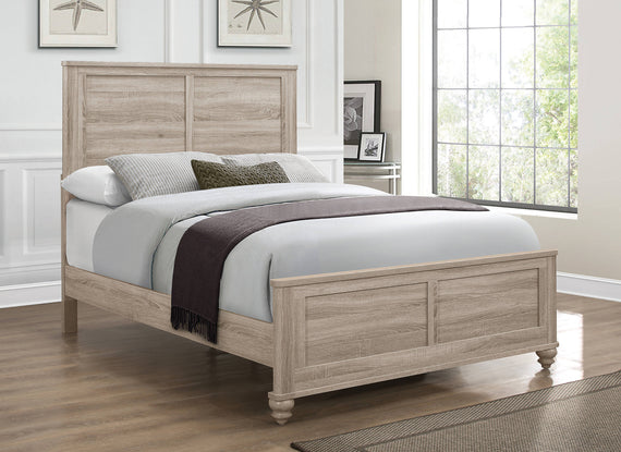 Wenham Full Panel Bed Natural Oak - 205461F