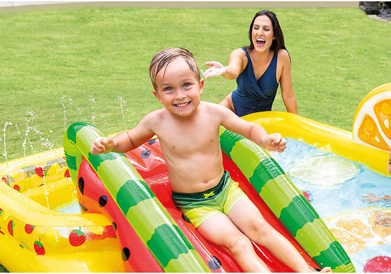 Intex Fun 'n Fruity Inflatable Play Center - 57158NP