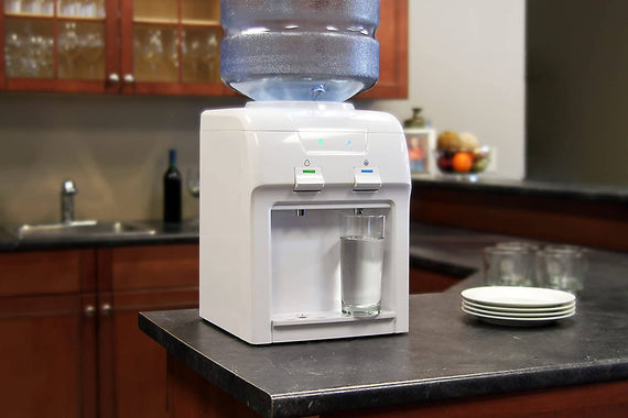 Vitapur Water Dispenser Countertop Easy to use push button controls and dispenses cold and room temperature water - 391978