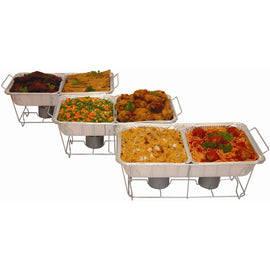 Serve Rite 24 piec Buffet Style Serve your guests in style with the Serve Rite 24 piece Buffet Serving Set, It's ideal to use at home or for outdoor events such as weddings, picnics and barbecues-303099