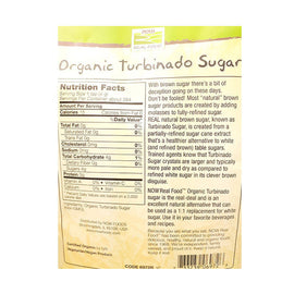 Now Turbinado Sugar 2.5lbs - 73373906972
