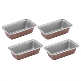 Cuisinart Mini Loaf Pans - Set of 4 (Bronze) - CU-CMBM-4LPBZ