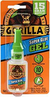 GORILLA Super Glue Gel 15g, Clear - 7600103