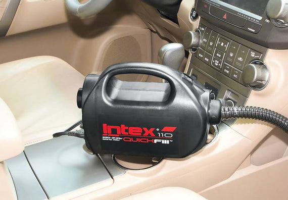 Intex 110 Quick Fill Electric Pump AC/DC - 68608E