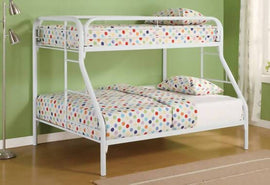 Morgan Twin Over Full Bunk Bed White - 2258W