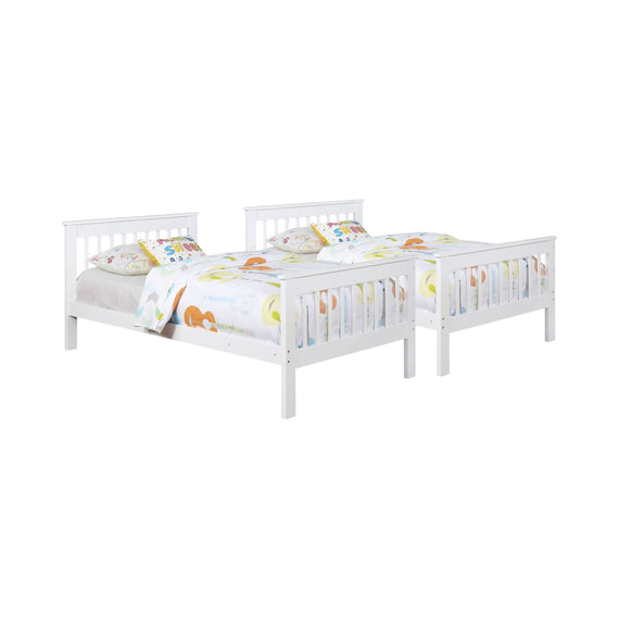 Chapman Twin Over Twin Bunk Bed White - 460244N