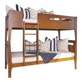 Livermore Twin/Twin Bunk Bed Walnut - 401663