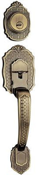RAIDER Zinc Alloy Handle Lockset 7071 Antique Brass (AB) for Office or Front Door