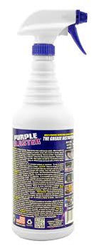 Purple Blaster, Super concentrated industrial cleaner & degreaser. Specially formulated for cleaning and degreasing tough stains, oil, grease, dirt, bugs, etc. - 29.235