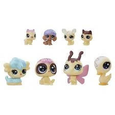 Littlest Pet Shop Series 2 Special Collection Gorillabee Pufferly Colley - PN00015707