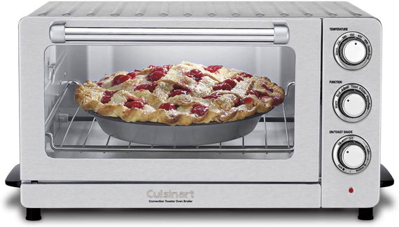 Cuisinart Toaster Oven Broiler with Convection (Stainless Steel) - CU-TOB-60N1