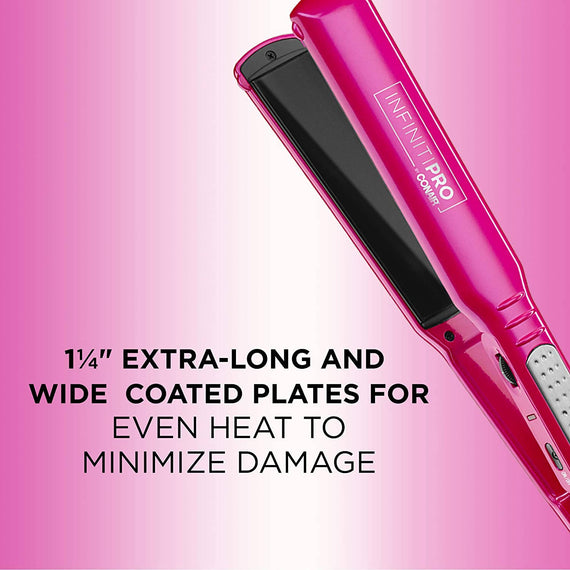 InfinitiPRO by Conair 1¼-inch Tourmaline Ceramic Flat Iron - C-CS76