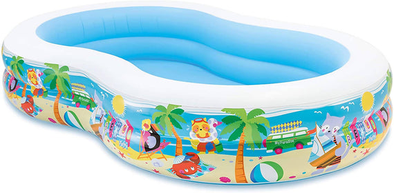 Intex Swim Center Paradise Inflatable Pool - 56490NP