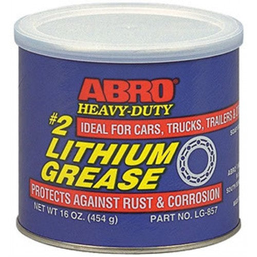 ABRO #2 Heavy-Duty Lithium Grease LG-857 (MABRO043)