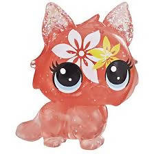 Littlest Pet Shop Petal Party Tiger Lily Collection, 7 Pets, Part of The Lps Petal Party Collection - PN00030238