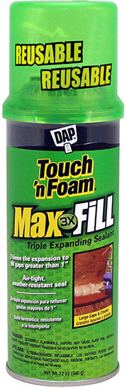 DAP MAX FILL TRIPLE EXPANDING SEALANT 12 OZ - 9700049020