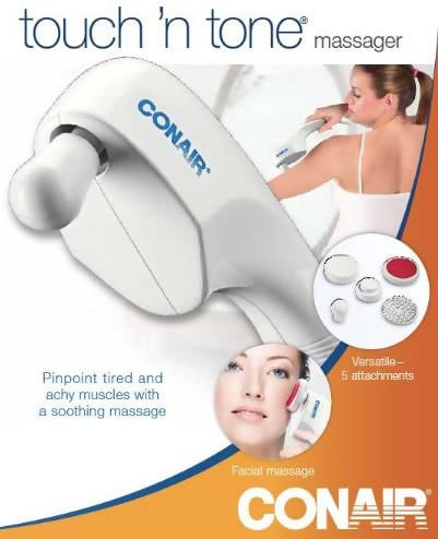 Conair Touch N' Tone Massager with 5 Attachments - CH-HM14