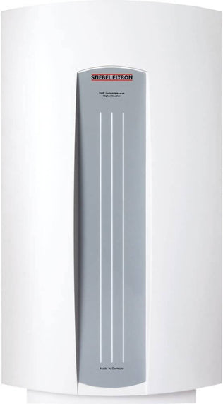 Stiebel Eltro Tankless Electric Water Heater is economical, ultra-compact, attractive, and well built point-of-use tankless water heaters designed for basic point of use applications such as bathroom sinks, kitchens, commercial washrooms etc. - DHC8-2