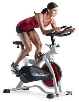 Proform Spin Bike Indoor 300 spx Get an incredible workout with the ProForm 300 SPX. This cycle is built for the ultimate cardio exercise - 395826