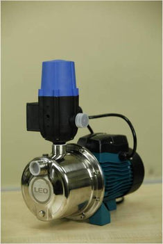 Water Pump With Smart Head 1 HP (LEO BRAND) - Multipurpose Waterpump, Applicable To Many Uses Be It Home, Commercial Or Industrial. - AJM75S