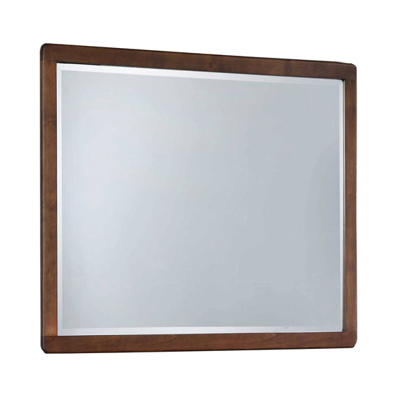 Wenham Rectangular Mirror Burnt Sugar - 222604