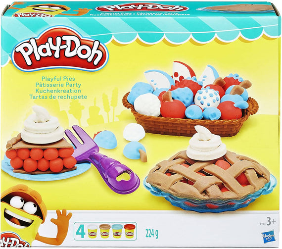 Play-Doh Kitchen Creations Playful Pies Set - 630509495382