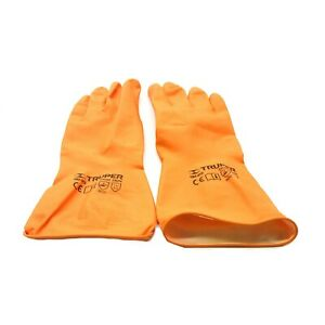 TRUPER LONG CUFF LATEX GLOVES - LARGE - 14263