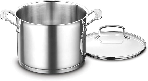 Cuisinart Professional Series Cookware 6 Quart Stockpot with Cover - CU-8966-22