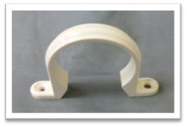 PVC Clamps  White
