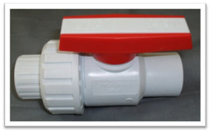 PVC Ball Valve Single Union