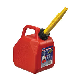 Scepter Self Venting Gasoline Can, Bright Red, With Position Spout. Ideal for Filing Vehicles, Grass Cutters, Generators and More - 07081, 07079, 07622