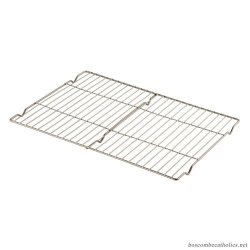 "Cuisinart 2 Piece 16"" Cooling Racks can cook virtually anything from juicy roasts to non-greasy bacon or crispy chicken wings without having to flip them, baking and cooking will be a breeze by using this versatile rack - CU-AMB-CR2"