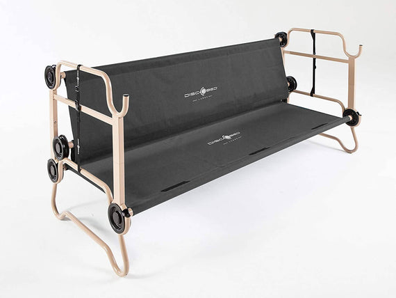 Disc O Bed Sleeping Cot Two Person for camping Double Bed Cot Stores in Compact Carrying Bag -420619