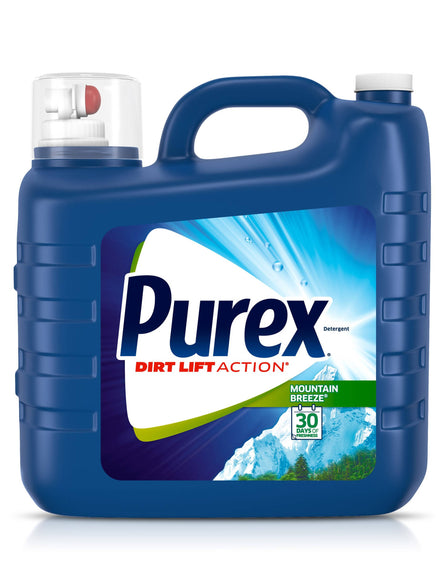Purex Liquid Detergent 208 loads Purex liquid laundry detergent combines the bright clean of Purex detergent with an extra powerful boost - 990830