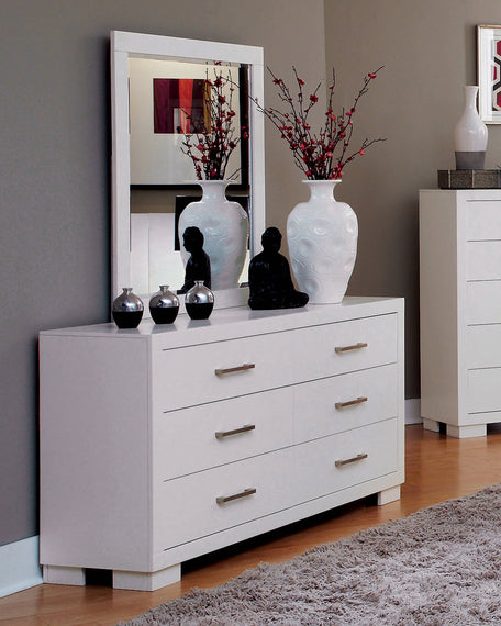 Jessica 6-Drawer Dresser White - 202993
