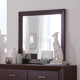 Kauffman Rectangular Mirror Dark Cocoa - 204394