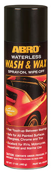 ABRO Waterless Wash & Wax WW-606 (MCAWWW01)