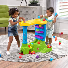 Step 2 Ball Buddies Kids will have loads of fun while developing their motor skills with the put-and-take ball play -498011
