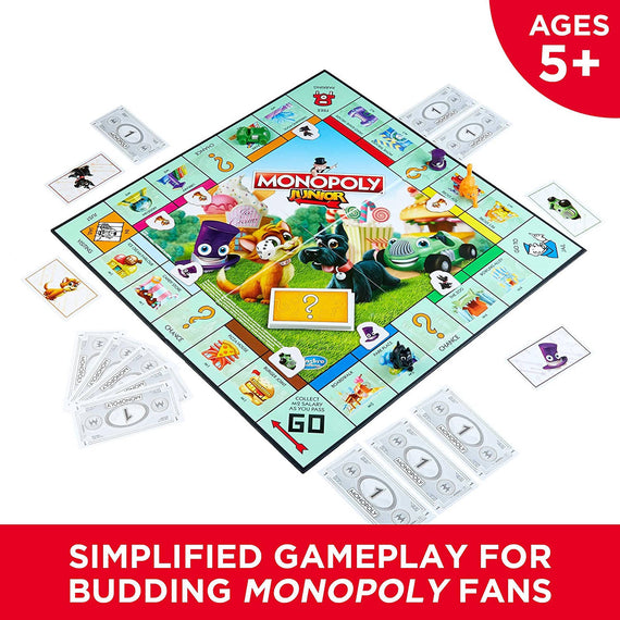 Hasbro Monopoly Junior Board Game - A6984
