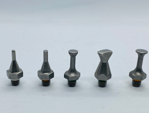 VIP Stainless Steel - Screw On Interchangeable Tip Set