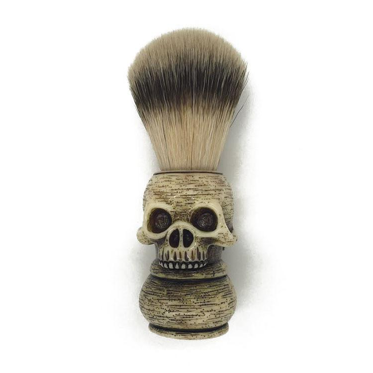 BRUSH SKULL FOR WET SHAVING