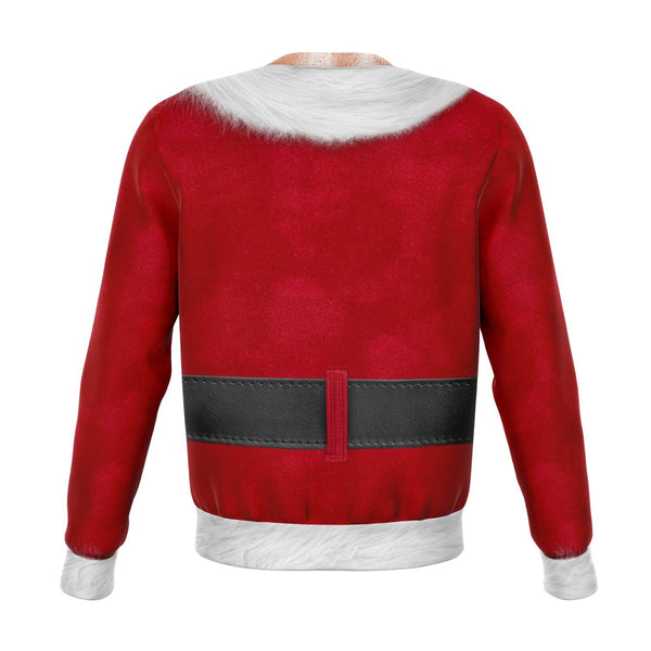 Fitness Santa - Athletic Sweatshirt