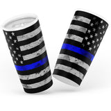 Blue Line Flag - 20oz Tumbler