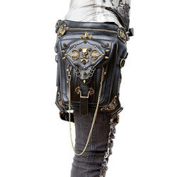 Gothic Retro Waist/Shoulder Skull Bag