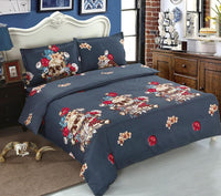 Day Of Dead Bed Linens 4Pcs Bedding Set