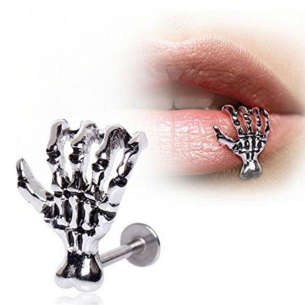 SKULL CLAW LIP PIERCING