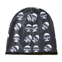 Winter Warm Skulls Beanie