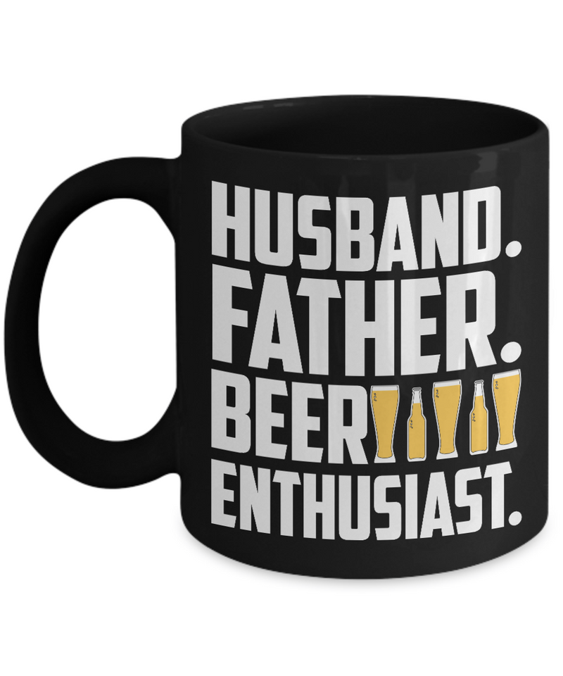 Husband. Father. Beer Enthusiast. Coffee Mug