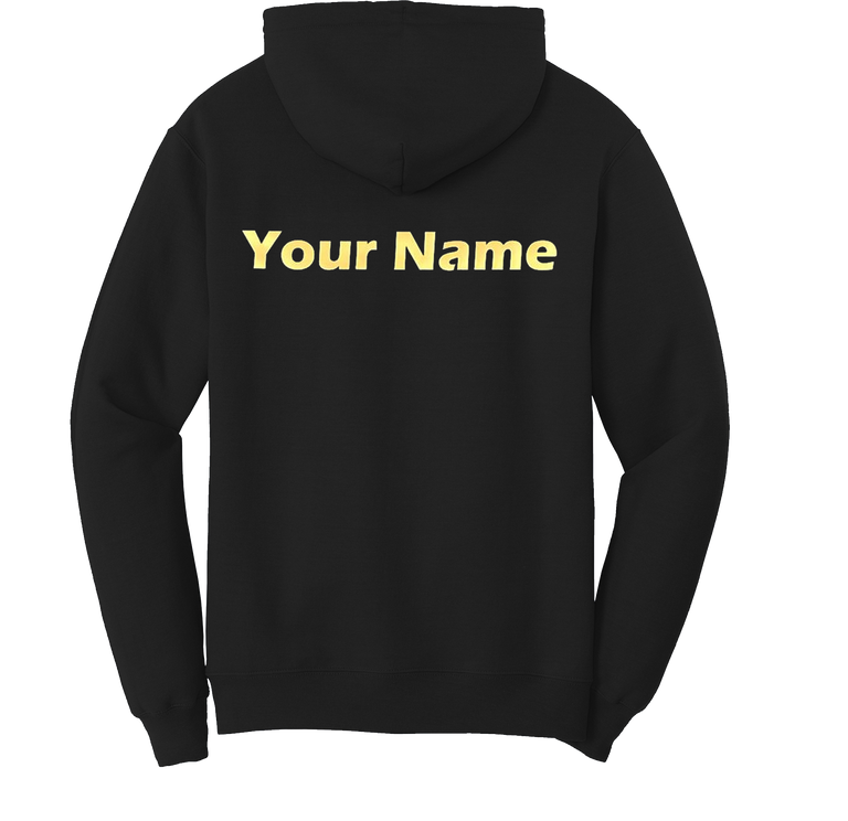 Personalized Video Edition, Elemental Nation Custom Name Hoodie